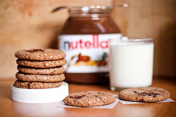 Nutellové cookies