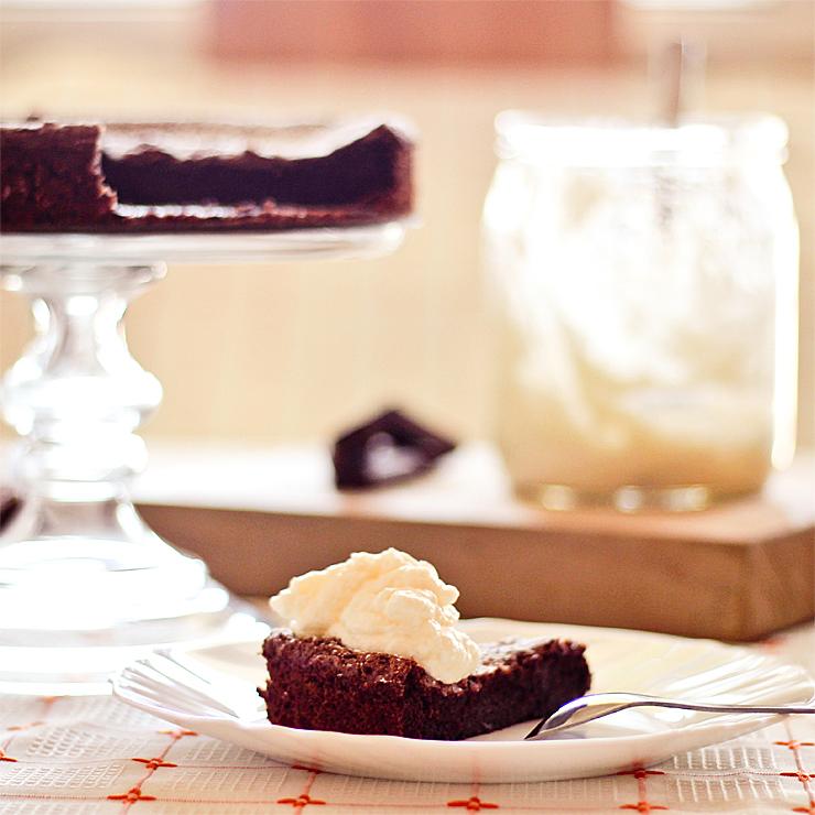 Čokoládový koláč (bez múky)