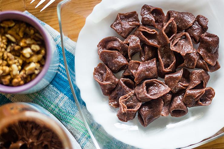 Čokoládové tortellini