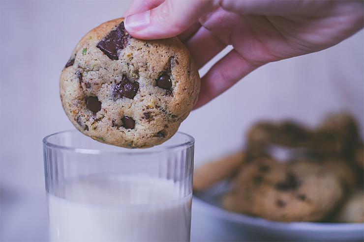 Pistáciové cookies