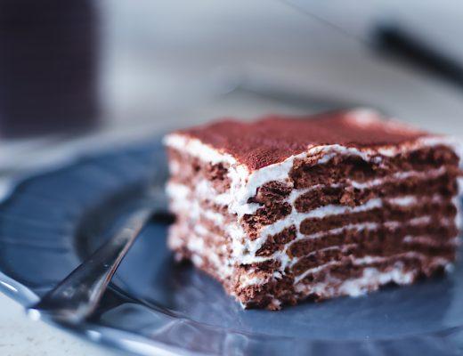 nepečený koláč