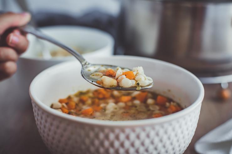 mušličková polievka